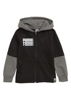 PUMA Rebel Fleece Zip Hoodie (Toddler Boys)