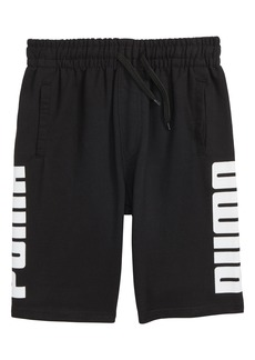 PUMA Rebel Knit Shorts (Big Boys)