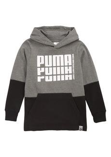 PUMA Rebel Logo Colorblock Hoodie (Big Boys)