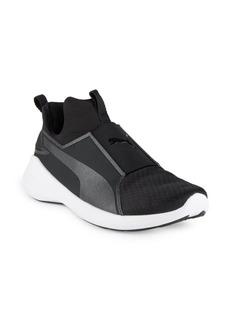 PUMA Rebel Slip-On Round-Toe Sneakers