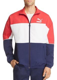 PUMA Retro Color-Block Track Jacket