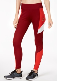 Puma Retro Colorblocked Ribbed Leggings