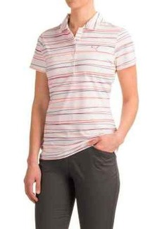 Puma Road Map Stripe Polo Shirt - UPF 40+, Short Sleeve (For Women)