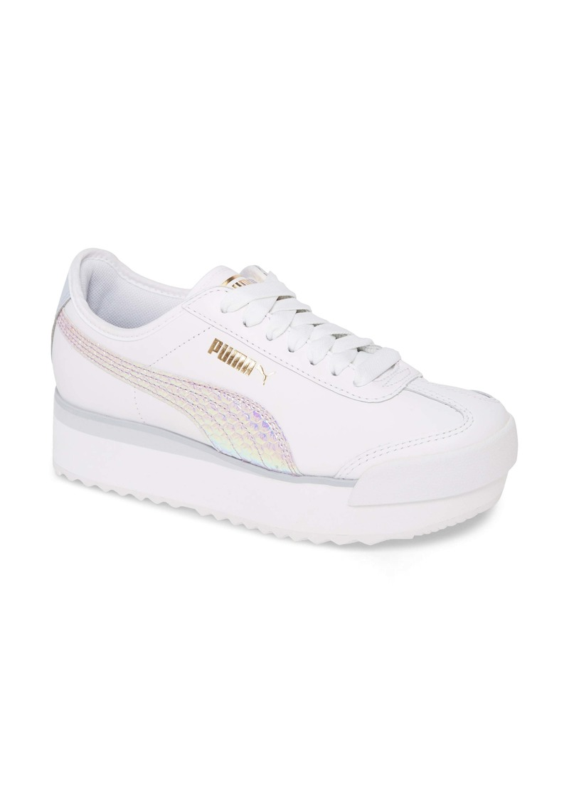 PUMA Roma Amor Iridescent Platform Sneaker (Women)