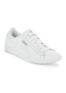 PUMA Vikky Round Toe Lace-Up Sneakers