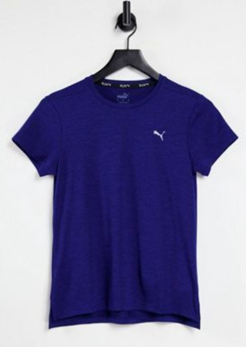 Puma Running Favorite t-shirt in blue