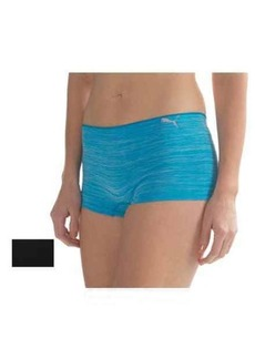Puma Seamless Space-Dyed Panties - 2-Pack, Boy Shorts (For Women)