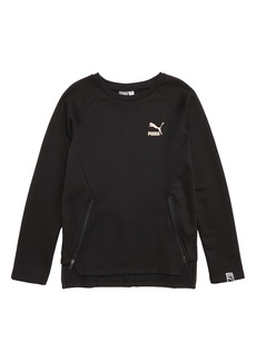 PUMA Side Zip Sweatshirt (Big Boys)