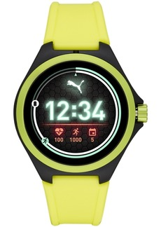 Puma Silicone Strap Smart Watch, 44mm