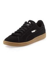 Puma Smash Perforated Nubuck Sneaker