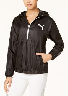 Puma Spark Half-Zip Hooded Jacket