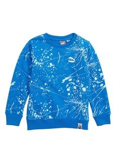 PUMA Splatter Fleece Sweatshirt (Toddler Boys & Little Boys)