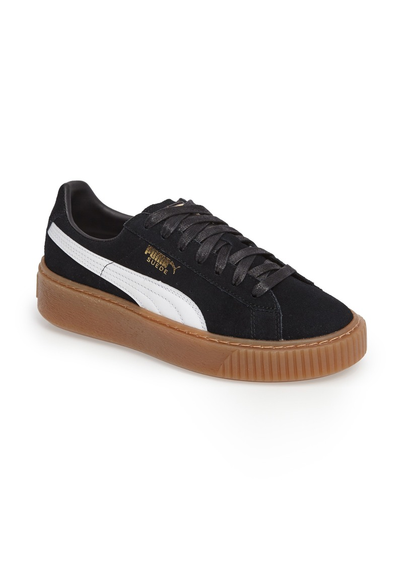 Puma PUMA Suede Platform Core Sneaker (Women)  acd3cfad47