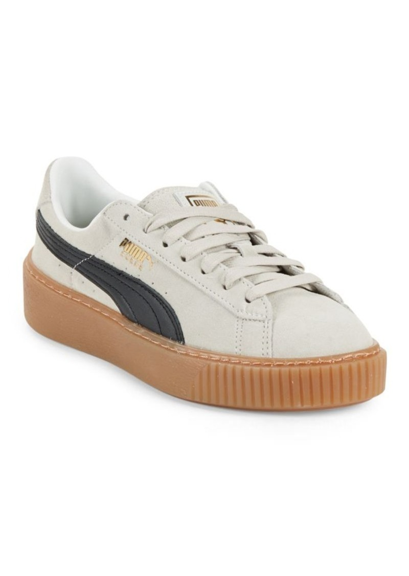 check-out 929c8 924b1 Suede Platform Core Sneakers