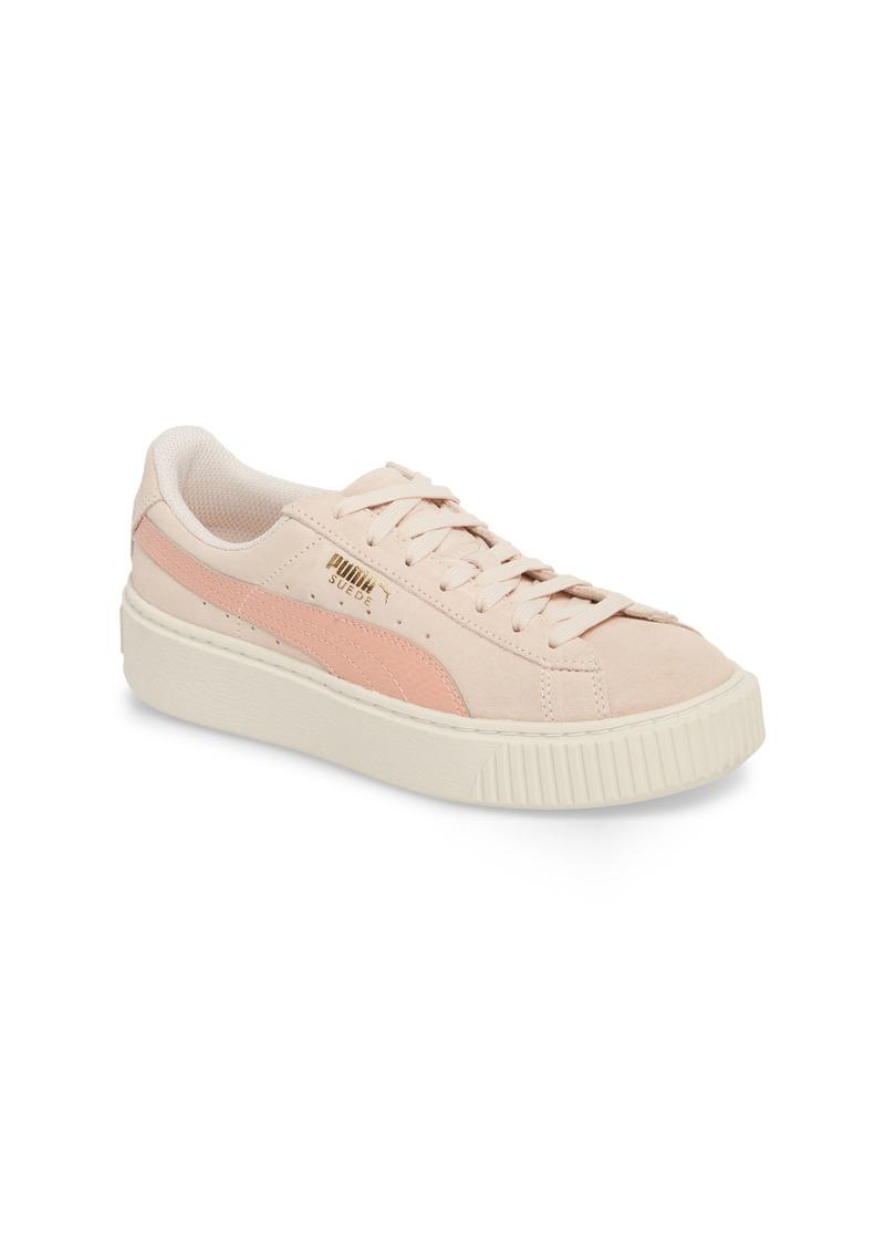 76e76cca5cdd68 PUMA Suede Platform Jr Sneaker (Big Kid)