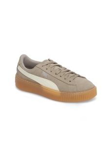 PUMA Suede Platform Jr Sneaker (Big Kid)
