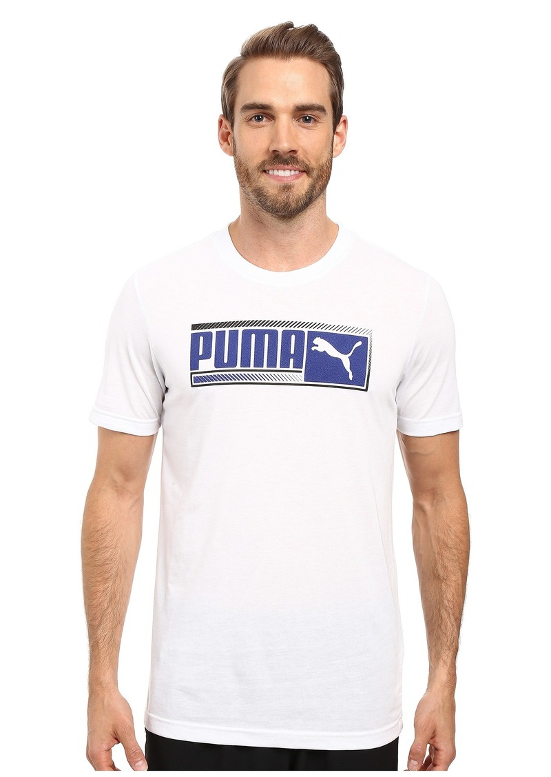 PUMA Sueded Perf Tee