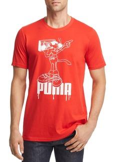 PUMA Super Puma Flock Graphic Tee