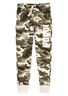 PUMA T7 Camo Fleece Sweatpants (Big Boys)