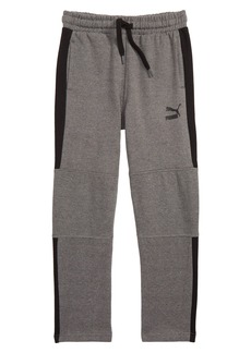 PUMA T7 Fleece Track Pants (Big Boys)