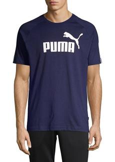 PUMA Tape Logo Cotton Tee