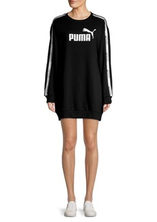 PUMA Tape Logo Sweater Dress