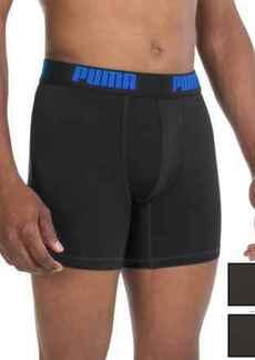 Puma Tech Boxer Briefs - 3-Pack (For Men)