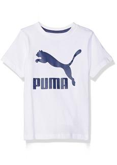 PUMA Toddler Boys' Archive Logo Tee White