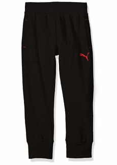 PUMA Toddler Boys' French Terry Joggers Black