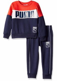 PUMA Toddler Boys' Pullover Fleece Set