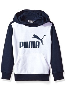 PUMA Toddler Boys' Pullover Hoodie White