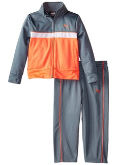 PUMA Little Boys' Toddler Tricot Jacket and Pant Set
