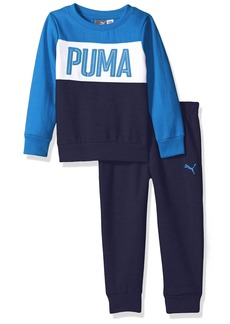 PUMA Toddler Boys' Two Piece Fleece Set