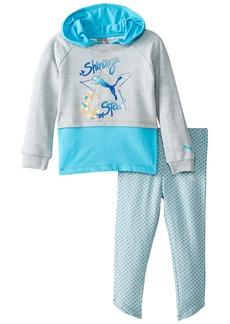 PUMA Little Girls' Toddler 2 Piece Hoodie and Legging Set