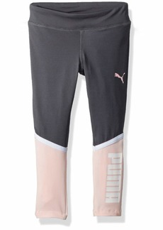 PUMA Toddler Girls' Legging Iron gate
