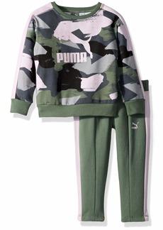 PUMA Toddler Girls' Pullover Fleece Set
