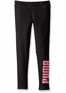 PUMA Toddler Girls' Shiny Legging Black