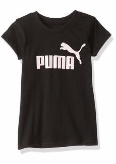 PUMA Toddler Girls' Short Sleeve Core Tee Shirt Black