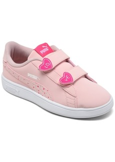 Puma Toddler Girls Smash v2 Candy Stay-Put Closure Casual Sneakers from Finish Line