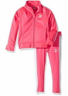 PUMA Toddler Girls' Track Jacket and Legging Set