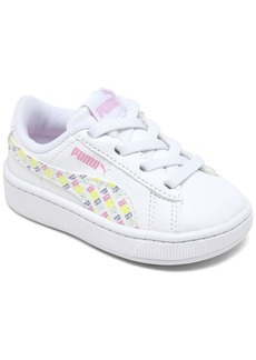 Puma Toddler Girls Vikky Repeat Slip-On Casual Sneakers from Finish Line