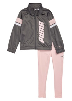PUMA Track Jacket & Leggings Set (Toddler Girls & Little Girls)