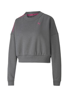 PUMA Train Brave Zip Crew Sweatshirt