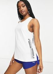 Puma Training muscle tank in white