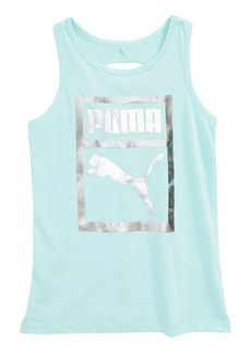 PUMA Twist Back Tank (Big Girls)