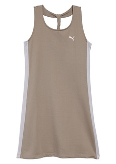 PUMA Twist Back Tank Dress (Big Girls)
