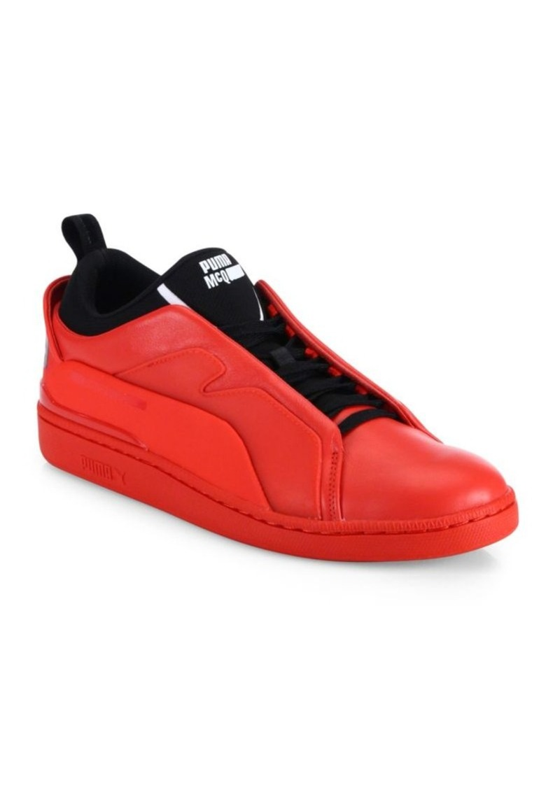 PUMA Two-Toned Leather Sneakers
