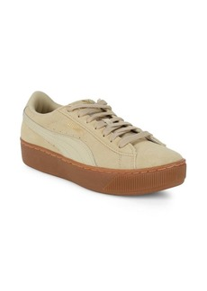 Puma Vikky Lace-Up Platform Sneakers