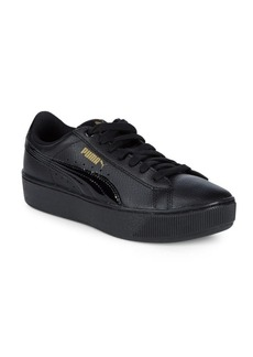 PUMA Vikky Platform Leather Sneakers