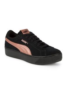 Puma Vikky Platform Suede Sneakers